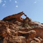 Natural Landmark Collapses At Valley Of Fire