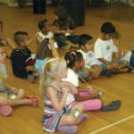 Children Visit Rainforest At VBS