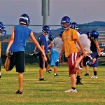 MVHS Football Holds Boot Camp