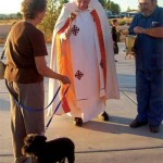 Local Pets Turn Out For Blessing of the Animals