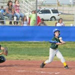 Youth Baseball Holds Opening Day