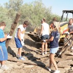 MVHS Student Volunteers Clean Up CCSD Property