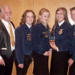 Local FFA Regional Champs In National Contest