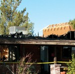 New Year's Eve Fire Destroys Home