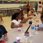 Girl Scouts Camp At The Fairgrounds