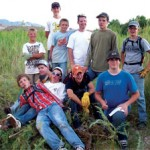 New Scout Troop Works Toward A Goal