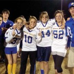 White Magics Win Powder Puff Game