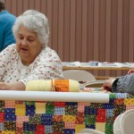 Making Quilts For Haiti