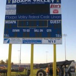 MVHS Stadium Gets New Scoreboard