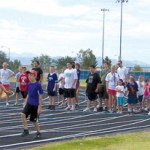 Future Track & Field Stars Attend 1st Annual Muddy River Track & Field Camp