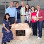 MVHS Tennis Courts Dedicated To Former Student