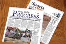 Beginning this week, the PROGRESS comes out with a new look. The new broadsheet format promises to bring improvements to both readers and advertisers.