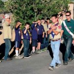 Scouts Lead Memorial Day Flag Raising