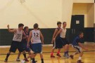 MVHS 9th graders play in a scrimmage while attending a summer basketball training camp in St. George. PHOTO COURTESY OF JOHN STASTNY.