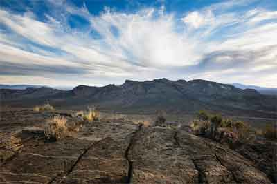 Over 700,000 acres of desert land in Lincoln and Nye Counties was designated as the new Basin and Range National Monument by President Barack Obama last week. PHOTO BY BUREAU OF LAND MANAGEMENT.