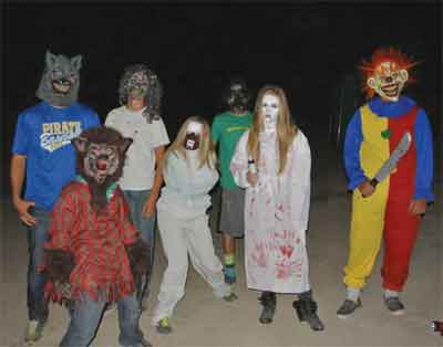 A frightful cast of characters will await those who dare enter the Moapa Valley Haunted Corn Maze.