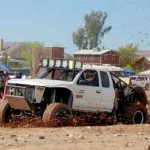 Hot Weather Bogs Down Mud Races