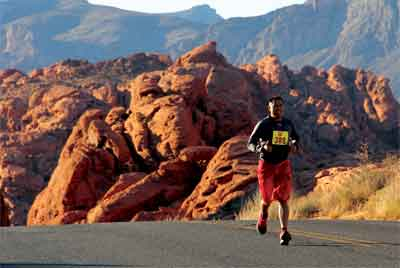 Valley of Fire 1/2 Marathon Numbers Down