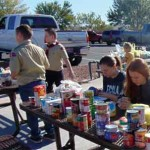 M.V. Community Supports Scouting For Food