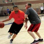 Tough Competition In 1st 'Black Shirt' Basketball Tourney