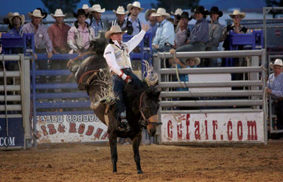 Exciting Rodeo Action