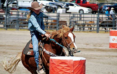 Local Kids Compete In Youth Finals Rodeo