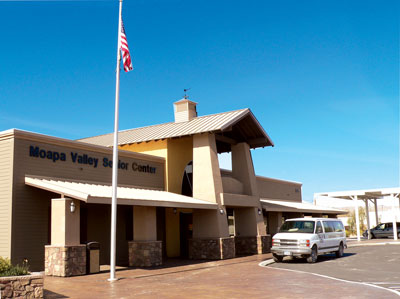 The Senior Center facility in Overton has recently been opened for expanded use, including Parks and Rec youth programs. PHOTO BY VERNON ROBISON/Moapa Valley Progress.