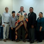 Tribal Council Honors Local Business Owner
