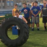 Pirates Compete For MV Strong Man