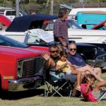 Overton Park Ablaze With Color For Car Show