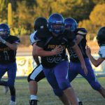 Pirate B and JV Football Teams Beat Virgin Valley Bulldogs